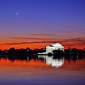 Jefferson Memorial At Dawn by Metro DC Photography