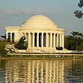 Jefferson Memorial At Sunset by Emmy Vickers