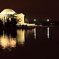 Jefferson Memorial From Across The Tidal Pool by Robert McCulloch
