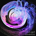Jellyfish Abstract by Gail Matthews