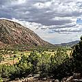 Jemez Mountain Valley by Lonnie Wooten