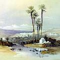 Jenin Ancient Jezreel 1839 by Munir Alawi