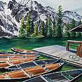 Jenny Lake by Paula Noblitt