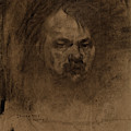 Jerome Myers, Self-portrait, American, 1867 - 1940 by Quint Lox