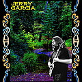 Jerry At Psychedelic Creek by Ben Upham