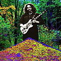 Jerry At The Cosmic Pyramid In The Woods  by Ben Upham