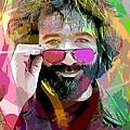 Jerry Garcia Art by David Lloyd Glover