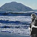 Jerry Garcia At Mt Tamalpaisland 3 by Ben Upham