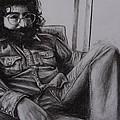 Jerry Garcia In '72   by Leandria Goodman