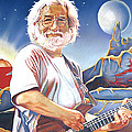 Jerry Garcia Live At The Mars Hotel by Joshua Morton