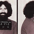 Jerry Garcia Mugshot by Digital Reproductions