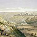 Jerusalem April 5th 1839 by David Roberts