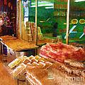 Jerusalem Marketplace by Rick Black