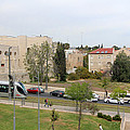 Jerusalem Near New Gate by Munir Alawi