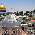 Jerusalem Old City Domes by Henry Kowalski