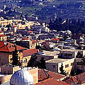 Jerusalem Panoramic by Thomas R Fletcher