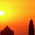 Jerusalem Sunrise by Thomas R Fletcher