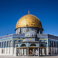 Jerusalem's Dome by Karen Saunders