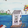 Jessica's Houseboat by Michele Fritz
