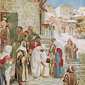 Jesus Advises His Disciples To  'suffer by Mary Evans Picture Library