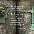 Jesus And Cross - Inspirational - Bible Scripture by Kathy Fornal
