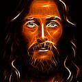 Brilliant Jesus Christ Portrait by Pamela Johnson