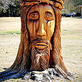 Jesus Carving by Mary Koval