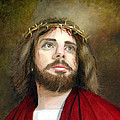 Jesus Christ Crown Of Thorns by Cecilia Brendel