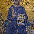 Jesus Christ Mosaic by Stephen Stookey