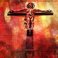 Jesus Christ On The Cross by Justyna JBJart