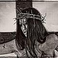 Jesus Christ Portrait by Ramon Martinez