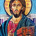 Jesus Christ The Pantocrator I by Ryszard Sleczka