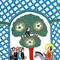 Jesus Enters The Gate Of Jerusalem by Leif Sodergren