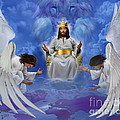 Jesus Enthroned by Tamer and Cindy Elsharouni