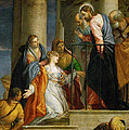 Jesus Healing The Woman With The Issue Of Blood by Paolo Veronese