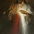 Jesus Of Divine Mercy by Dan Radi