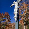 Jesus On The Cross by Adam Romanowicz