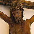 Jesus On The Cross by Al Bourassa