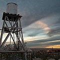 Jesus Saves Watertower - Route 66 by Glenn McCarthy Art and Photography