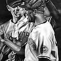 Jeter And Mariano by Jerry Winick