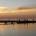Jetty In The Eveninglight by Christiane Schulze Art And Photography