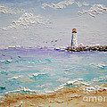 Jetty Lighthouse by Jimmie Bartlett