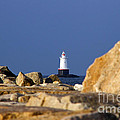 Jetty View Sakonnet Pt. Light II by Butch Lombardi