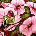Jewel Among Blooms by VLee Watson