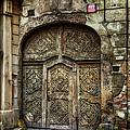 Jewish Quarter Doorway by Joan Carroll