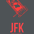 Jfk Airport Poster 2 by Naxart Studio
