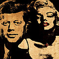 Jfk And Marilyn by Andrew Fare