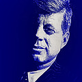 Jfk - Blue by Joe Ciccarone