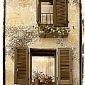 Orvieto Window Polaroid by Jerry Fornarotto