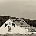 Jim Beam - D008291-bw by Daniel Dempster